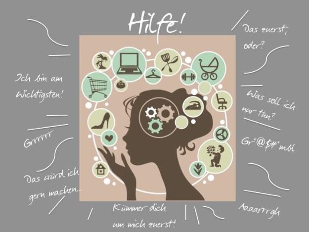 Stressmanagement - live the life you love, Prioritäten setzen, Klarheit schaffen